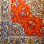 Traditional Eastern carpet desgin 19th century