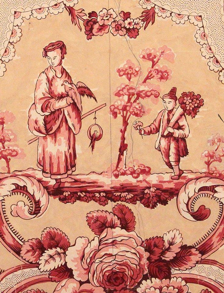 chinoiserie gouache